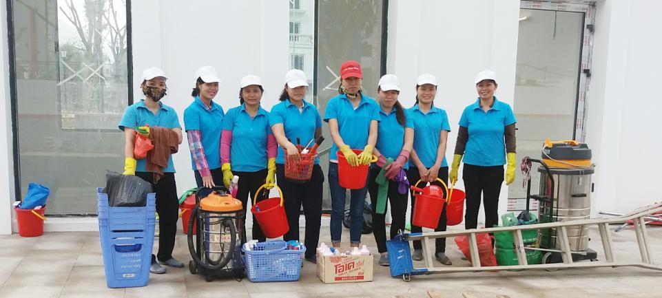 Dịch vụ vệ sinh công nghiệp Nha Trang