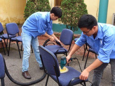 Giặt ghế Văn phòng Nha Trang