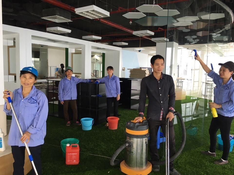 Quy trình gửi Bảng Giá Dịch vụ vệ sinh Nhà ở Nha Trang Sakura