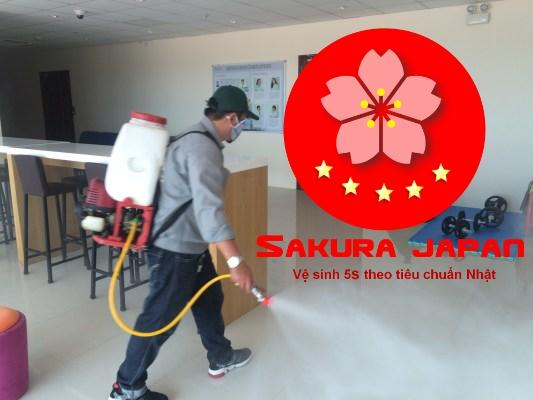 Quy trình Dịch vụ Diệt Gián Nha Trang Sakura
