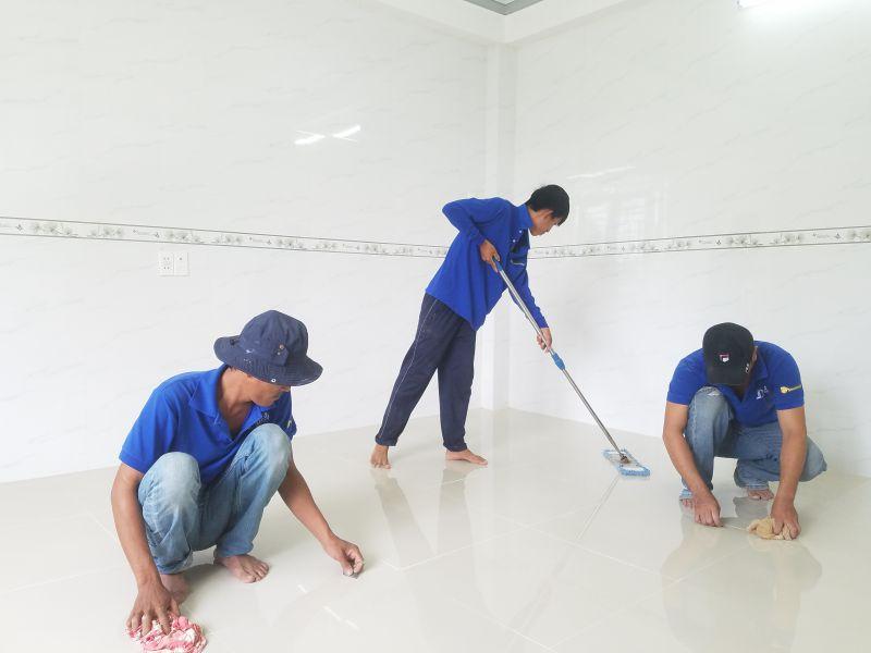 Dọn dẹp vệ sinh Nhà cửa theo giờ Nha Trang Sakura