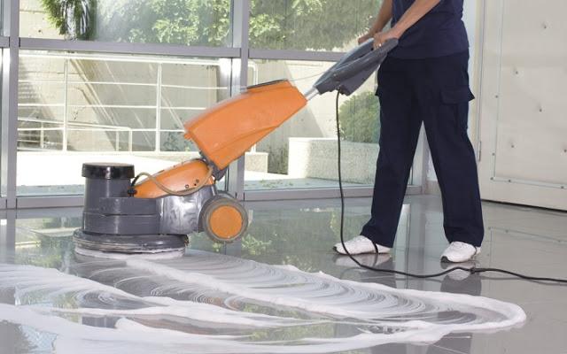 Dịch vụ chà sàn đánh bóng tại Nha Trang