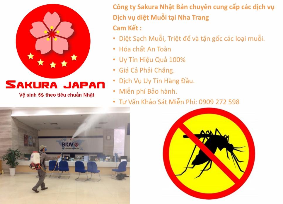 Dịch vụ diệt muỗi tại Nha Trang uy tín hàng đầu