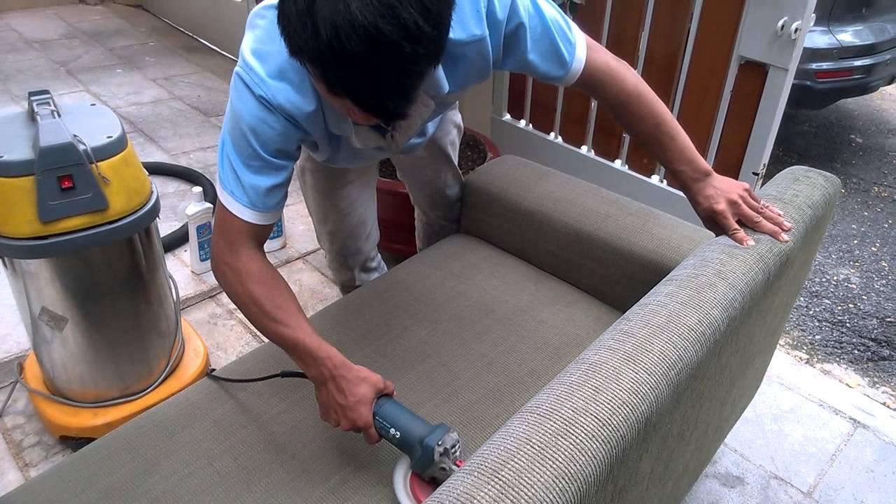 Dịch vụ giặt ghế sofa Nha Trang Sakura