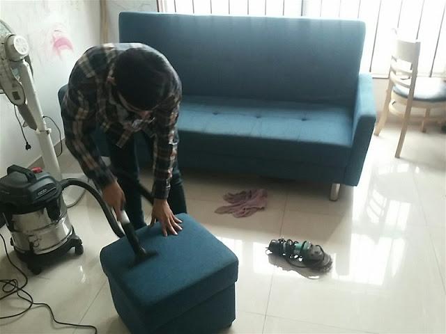 Dịch vụ giặt ghế tại Nha Trang