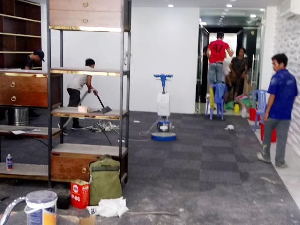 Dịch vụ vệ sinh công ty tại Nha Trang