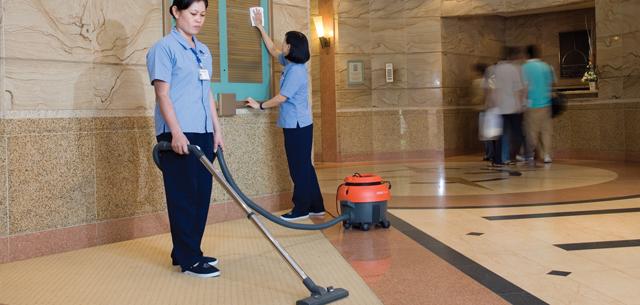 Dịch vụ vệ sinh nhà hàng khách sạn Nha Trang