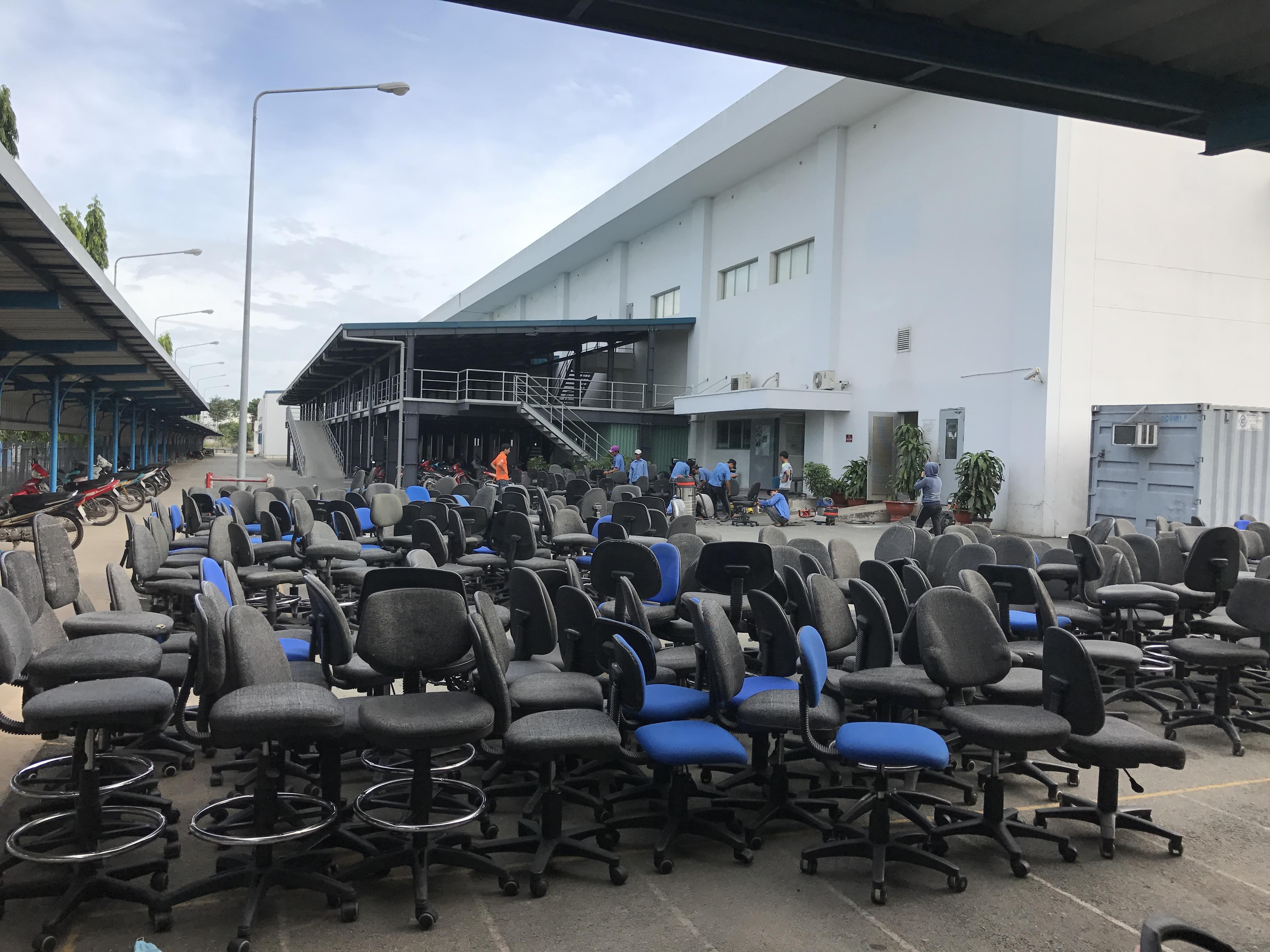 Ưu điểm dịch vụ giặt ghế Văn phòng Nha Trang Sakura