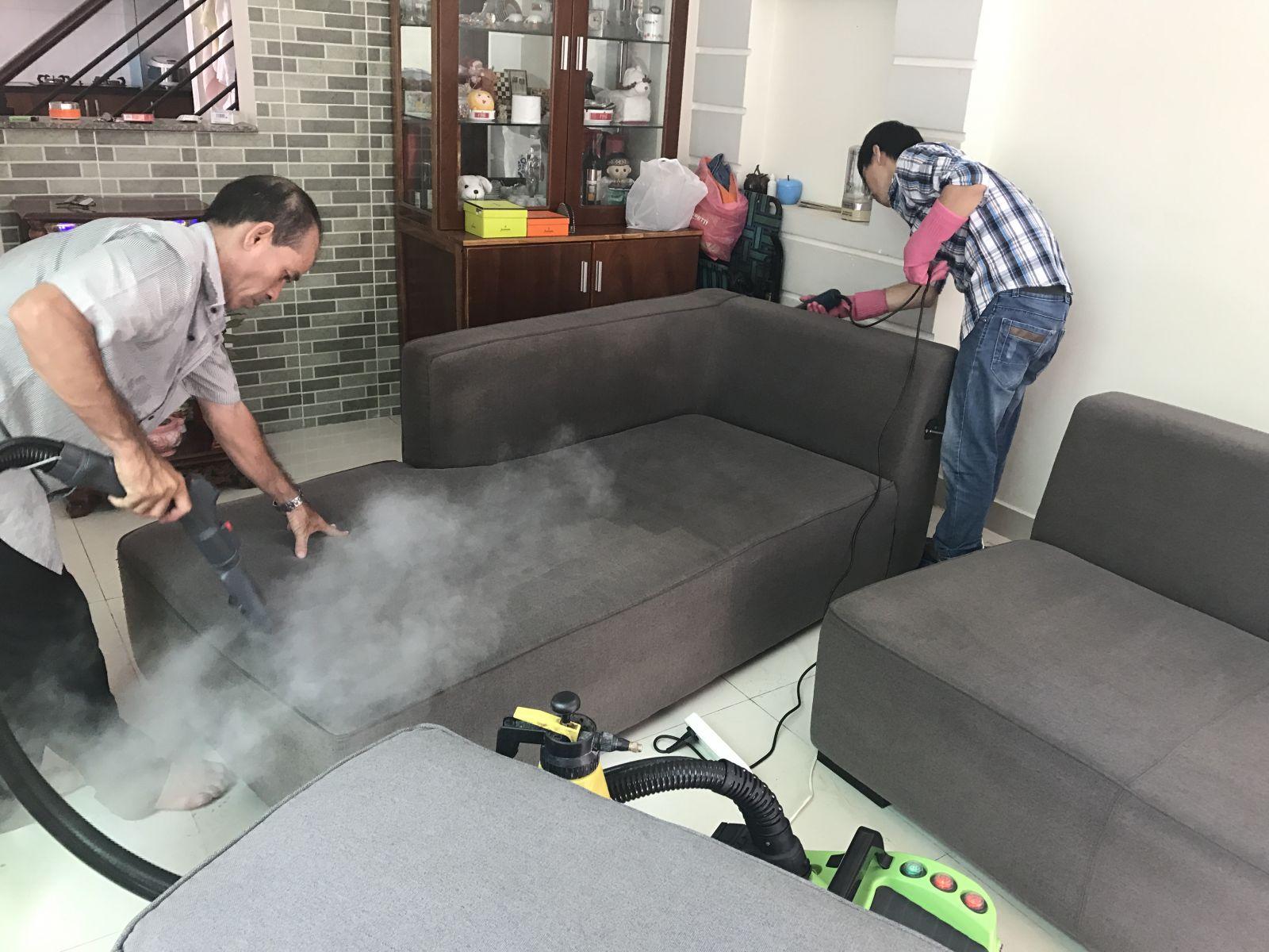 Dịch vụ giặt ghế Sofa Nha Trang