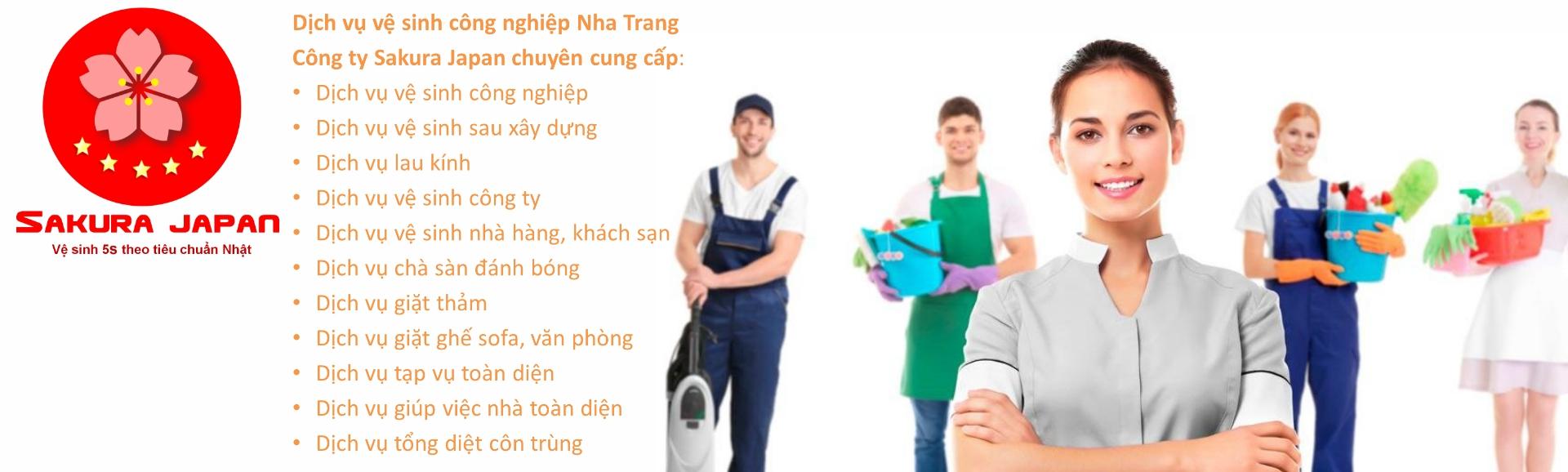 Sứ mệnh dịch vụ vệ sinh Nha Trang Sakura