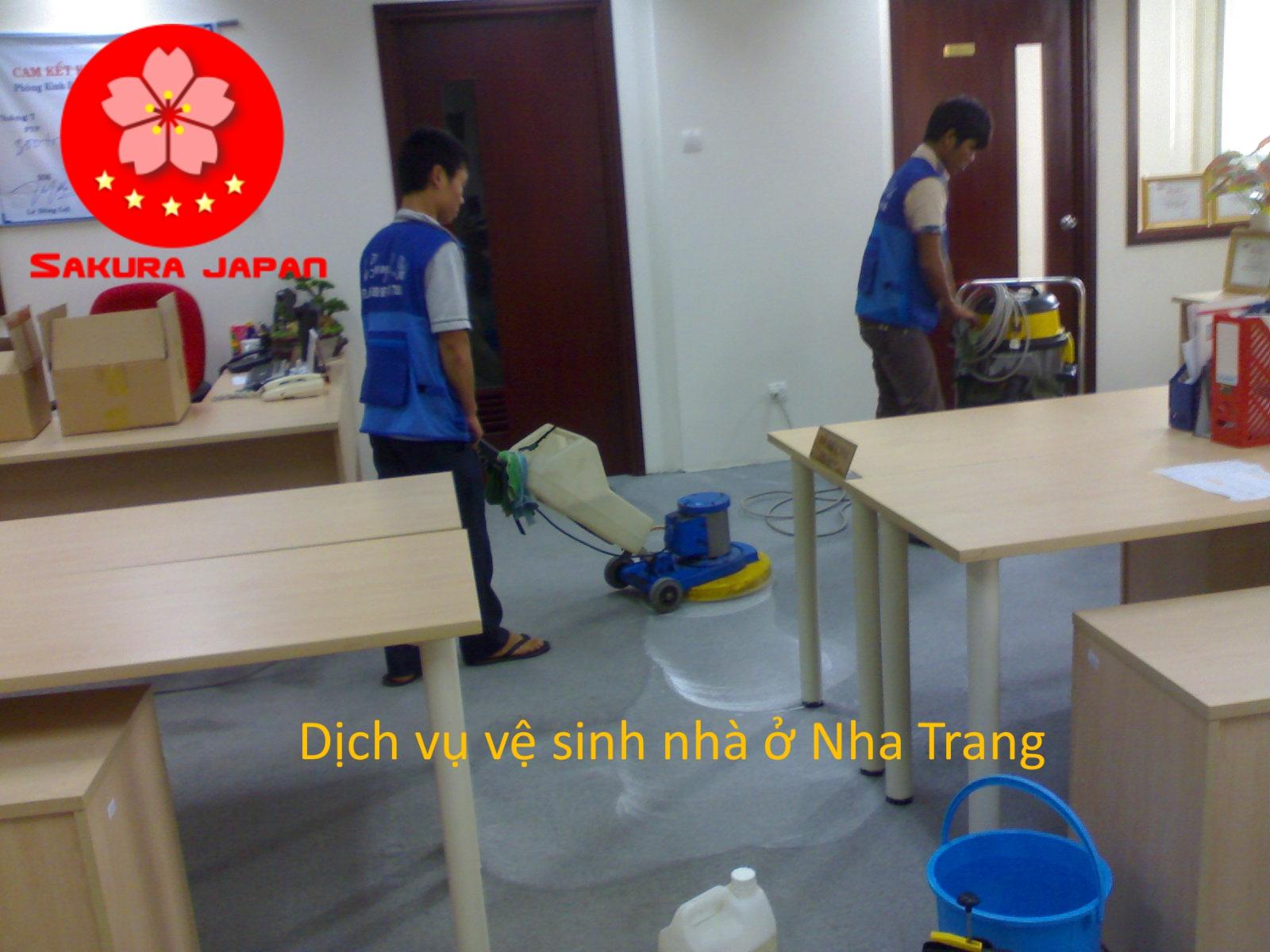 Dịch vụ vệ sinh Nhà ở Nha Trang