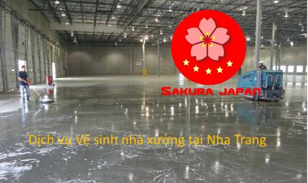 Báo giá dịch vụ vệ sinh nhà xưởng Nha Trang Sakura