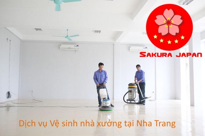 Quy tắc dịch vụ vệ sinh nhà xưởng Nha Trang Sakura