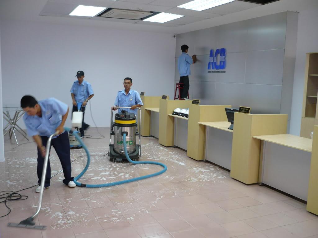 Quy trình tổng vệ sinh nhà cửa Nha Trang
