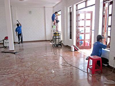 Vệ sinh nhà ở tại Nha Trang