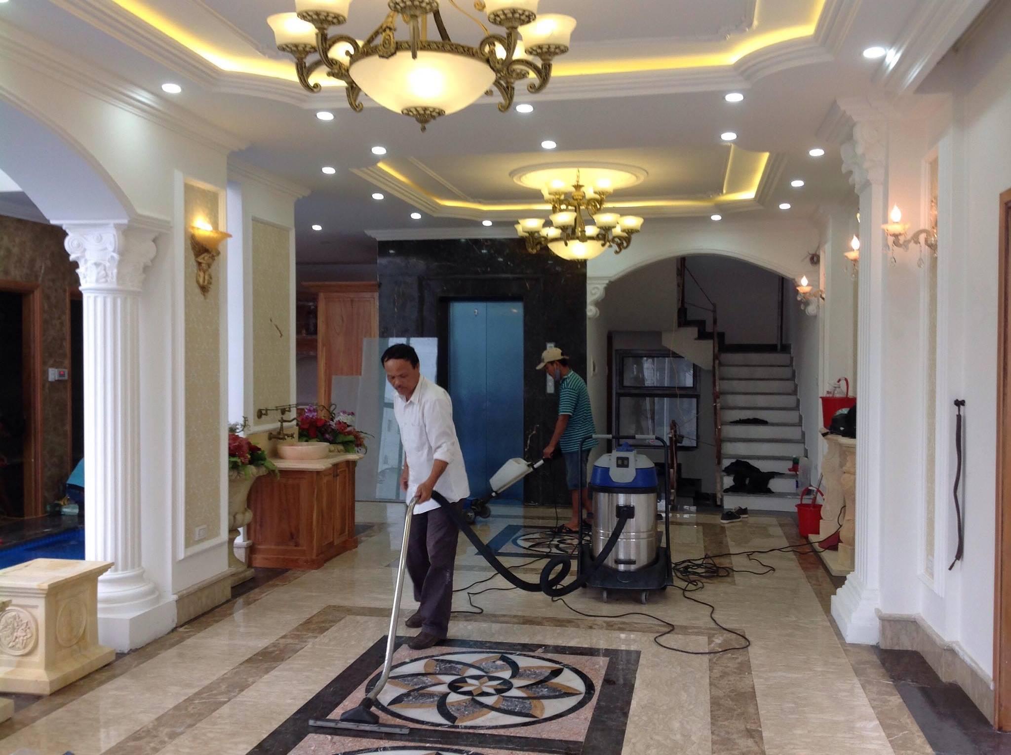 Quy trình dịch vụ tổng vệ sinh Nhà cửa Nha Trang