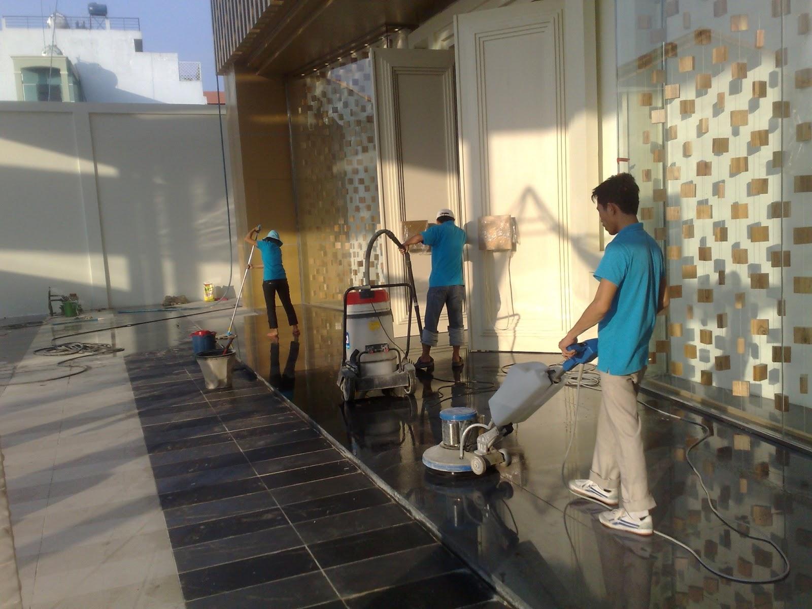 Hóa chất tổng vệ sinh nhà cửa Nha Trang