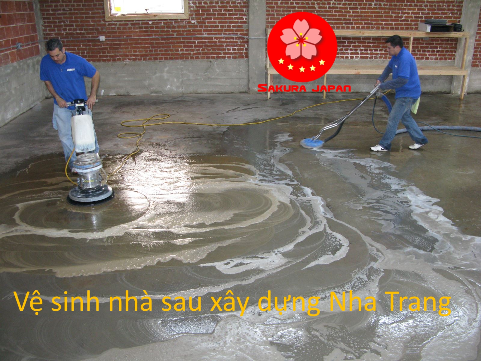 Dịch vụ Tổng vệ sinh nhà sau xây dựng Nha Trang