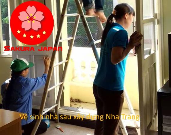 Quy trình Tổng vệ sinh nhà sau xây dựng Nha Trang