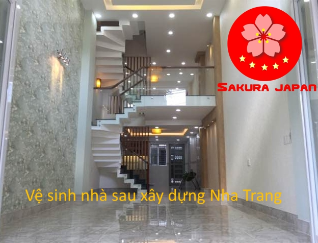 Cam kết Tổng vệ sinh nhà sau xây dựng Nha Trang Sakura