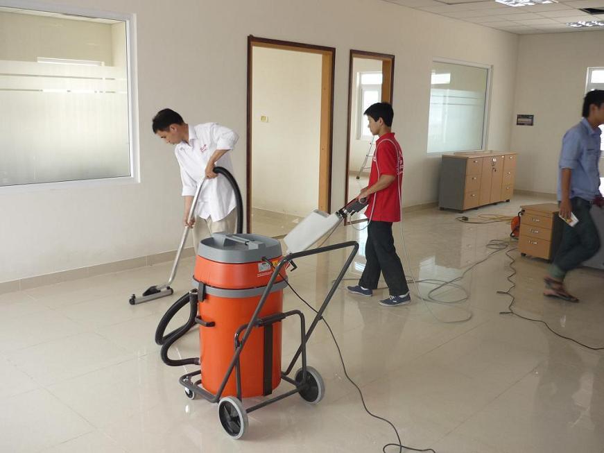 Cung cấp vệ sinh Nhà mới xây Nha Trang