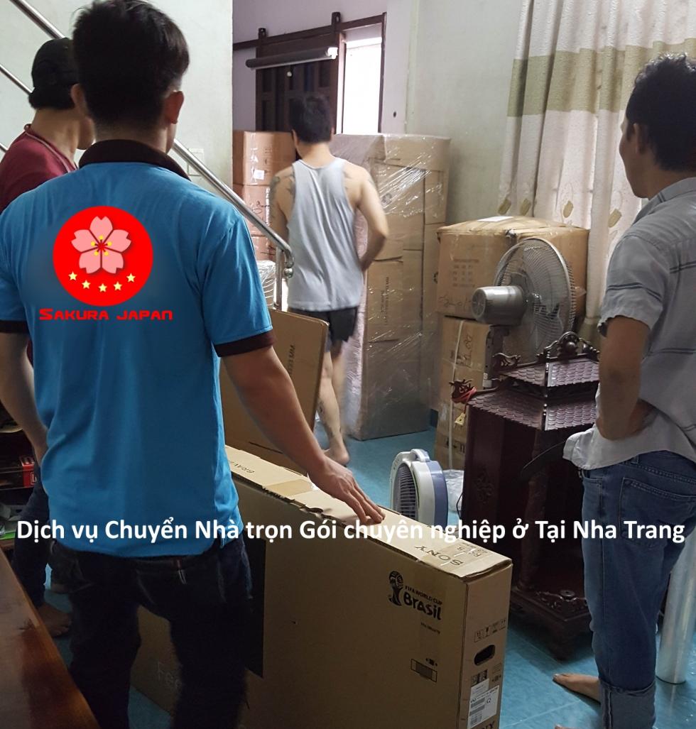 Dịch vụ chuyển nhà trọn gói giá rẻ Nha Trang Sakura
