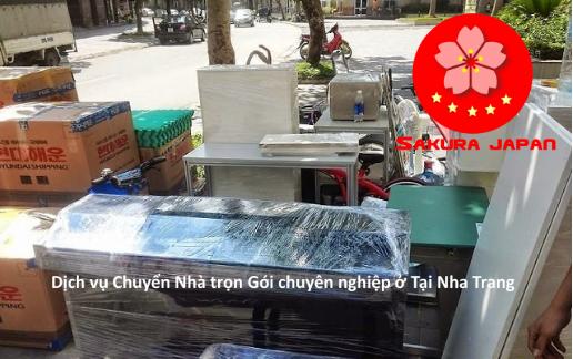 Dịch vụ chuyển nhà trọn gói Nha Trang Chuyên nghiệp Sakura