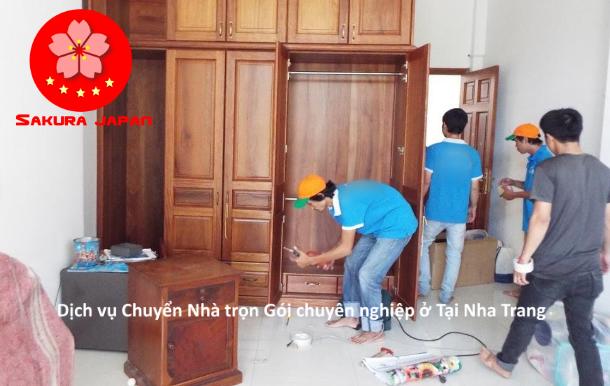 Dịch vụ chuyển nhà trọn gói ở tại Nha Trang