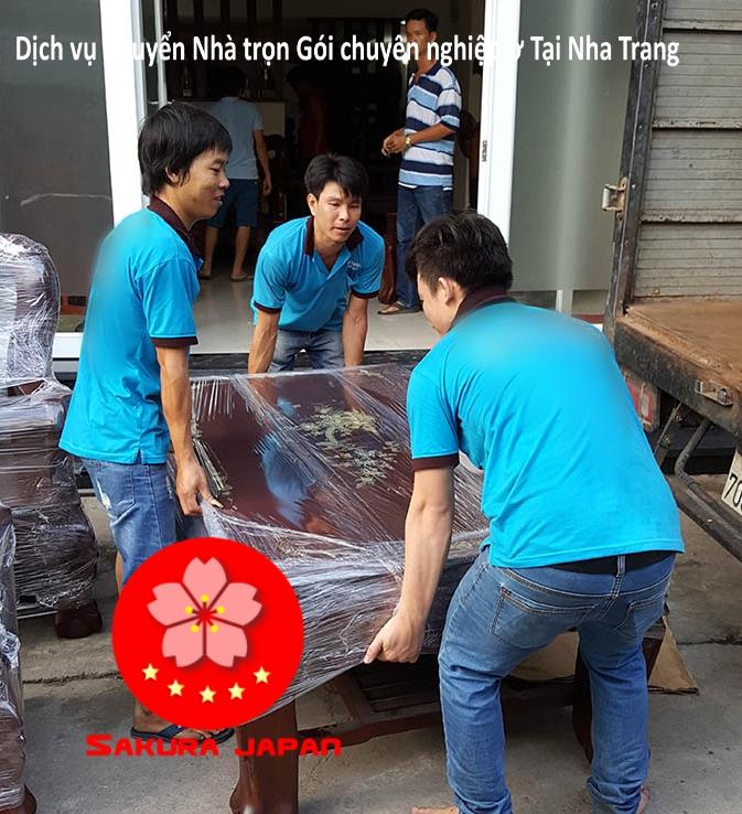 Dịch vụ Taxi tải Dọn Nhà Nha Trang trọn Gói Nha Trang