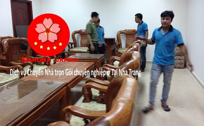 Công ty dịch vụ chuyển nhà trọn gói Nha Trang