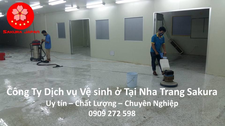 Công Ty Dịch vụ vệ sinh ở tại Nha Trang Uy tín Giá Rẻ Chuyên nghiệp