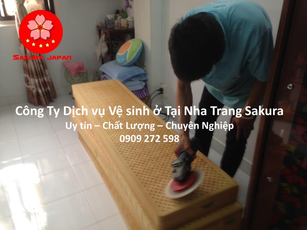 Công Ty Dịch vụ vệ sinh ở tại Nha Trang Uy tín Giá Rẻ Nhất