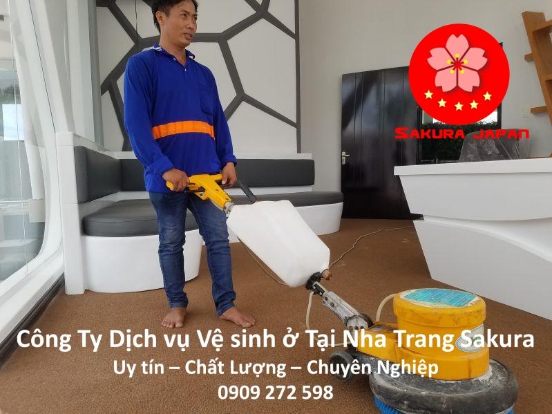 Công Ty Dịch vụ vệ sinh ở tại Nha Trang Uy tín Giá Rẻ