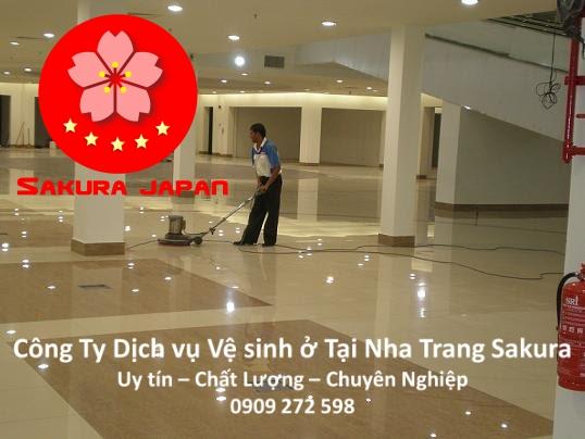 Công Ty Dịch vụ vệ sinh ở tại Nha Trang Chuyên nghiệp Uy tín Giá Rẻ Nhất