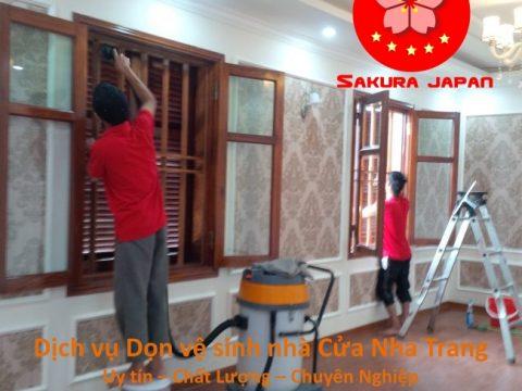 Dịch vụ Dọn vệ sinh nhà Cửa Nha Trang