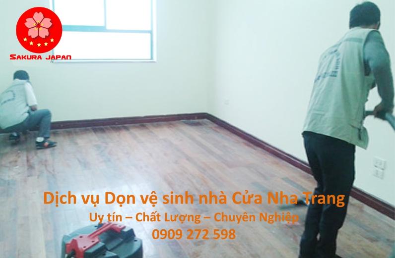 Dịch vụ Dọn vệ sinh nhà Cửa Nha Trang Giá Rẻ Uy Tín