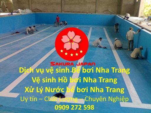 Vệ sinh Bể bơi Nha Trang Uy Tín Chuyên Nghiệp