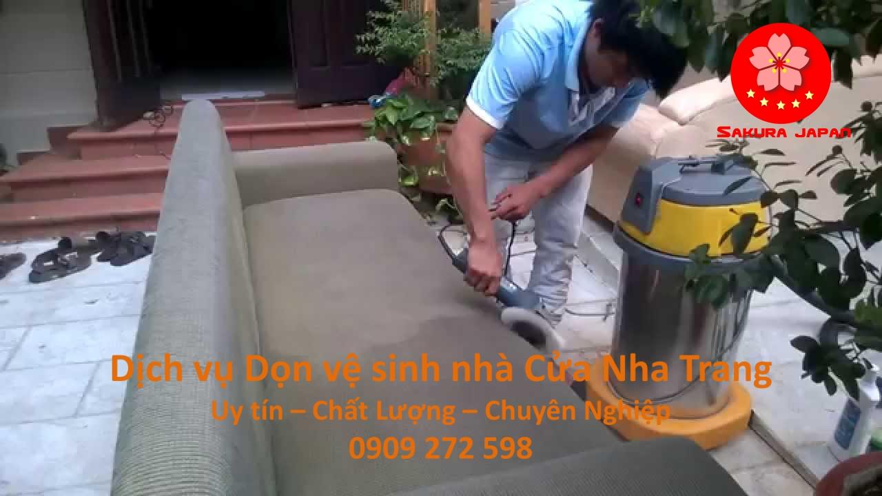 Dịch vụ Dọn vệ sinh nhà Cửa Nha Trang Chuyên Nghiệp
