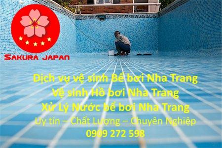 Công ty Dịch vụ Vệ sinh Bể bơi Nha Trang Uy Tín Chuyên Nghiệp