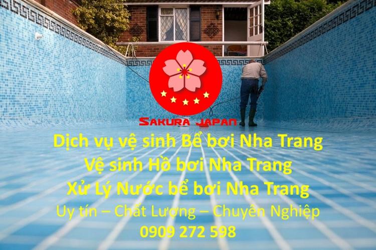 Công ty Vệ sinh Bể bơi Nha Trang Uy Tín Chuyên Nghiệp