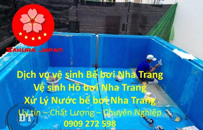 Vệ sinh hồ bơi Nha Trang Uy Tín Chuyên Nghiệp