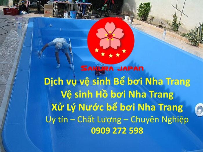Dịch vụ xử lý nước làm sạch Bể Bơi Nha Trang Chuyên nghiệp uy Tín