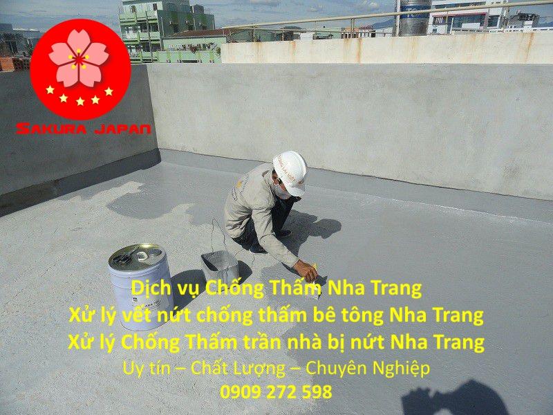 Dịch vụ Chống thấm dột trần nhà Nha Trang