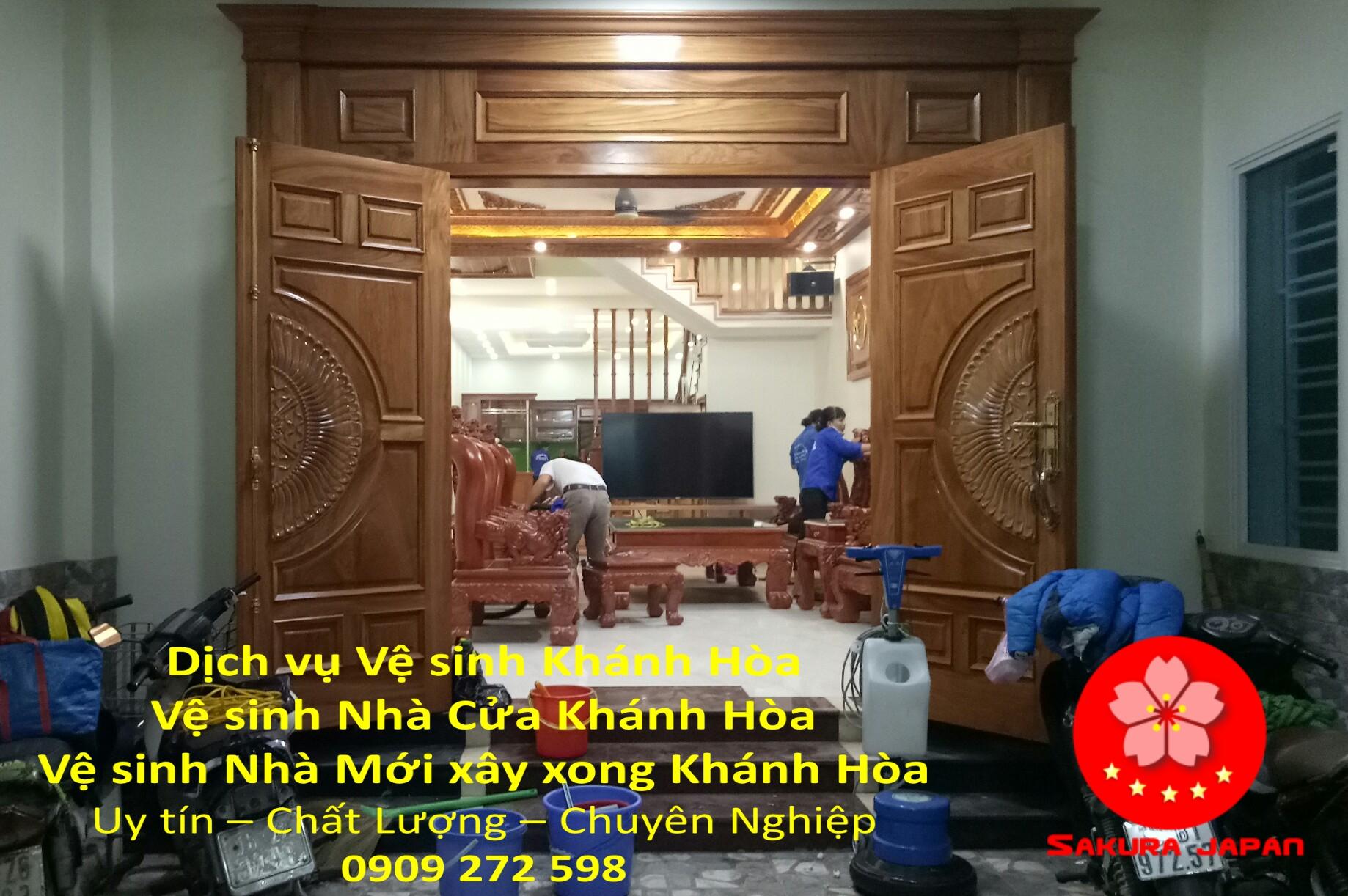 Tổng vệ sinh Nhà cửa Khánh Hòa