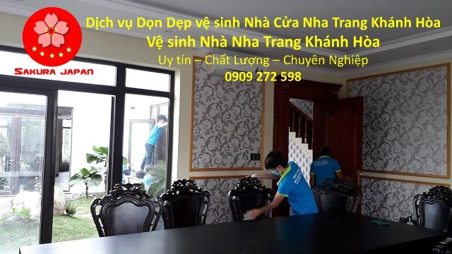 Dọn Dẹp vệ sinh Nhà Cửa Nha Trang Khánh Hòa Uy Tín 2