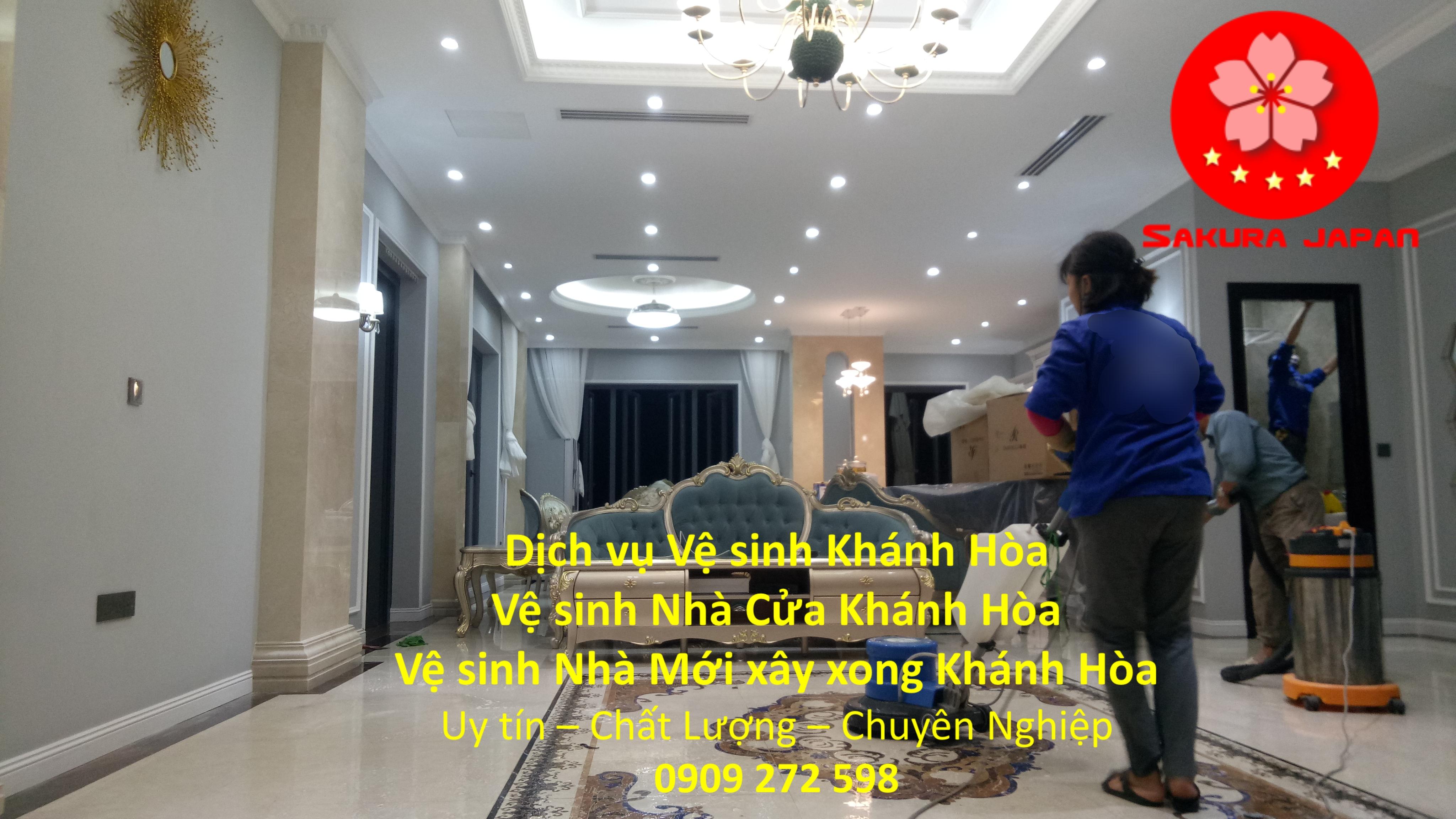 Vệ sinh Nhà trọn gói Khánh Hòa