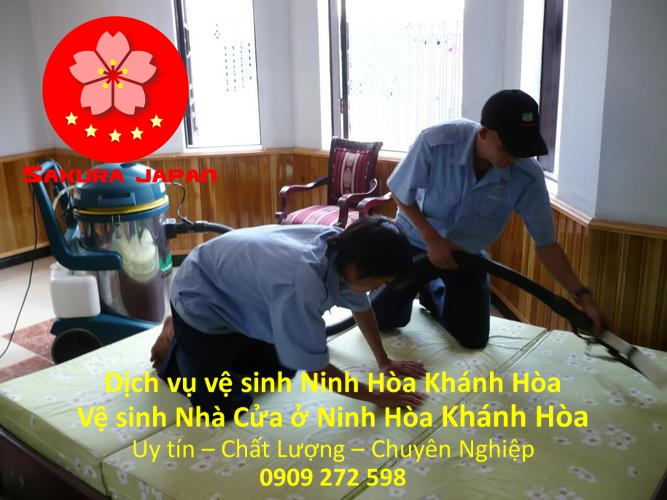 Dịch Vụ Vệ Sinh Nhà Ở Ninh Hòa Khánh Hòa