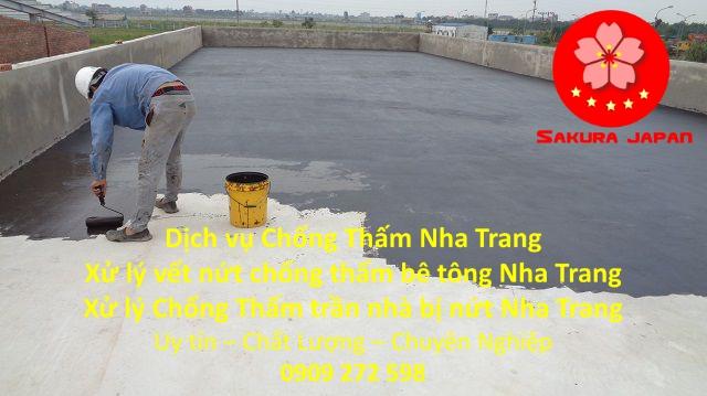Dịch vụ Chống thấm sàn Nha Trang