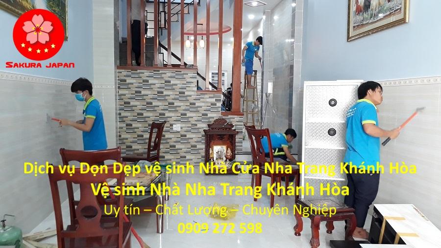 Dọn Dẹp vệ sinh Nhà Cửa Nha Trang Khánh Hòa Chuyên Nghiệp