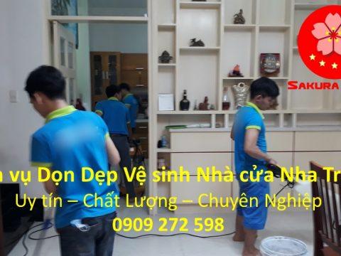 Dịch vụ Vệ Sinh Nhà Cửa Nha Trang Khánh Hòa